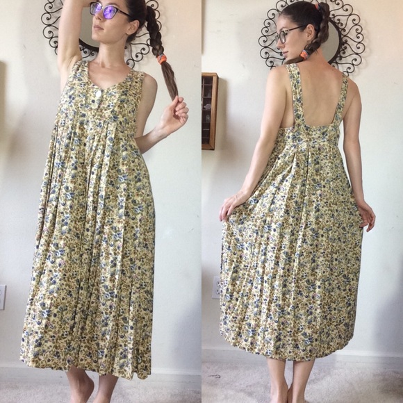 Express Dresses & Skirts - Erika's Gardening Dress Vintage Express
